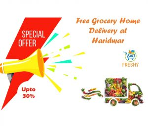 Free Grocery Home Delivery at Haridwar